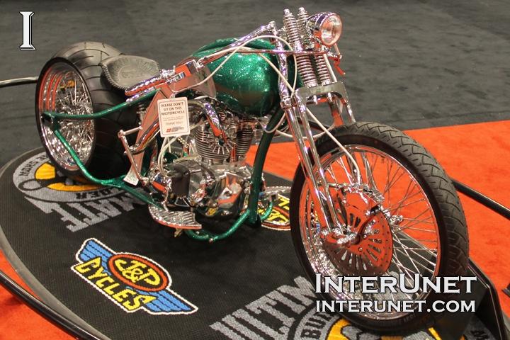 1971 Triumph custom bike