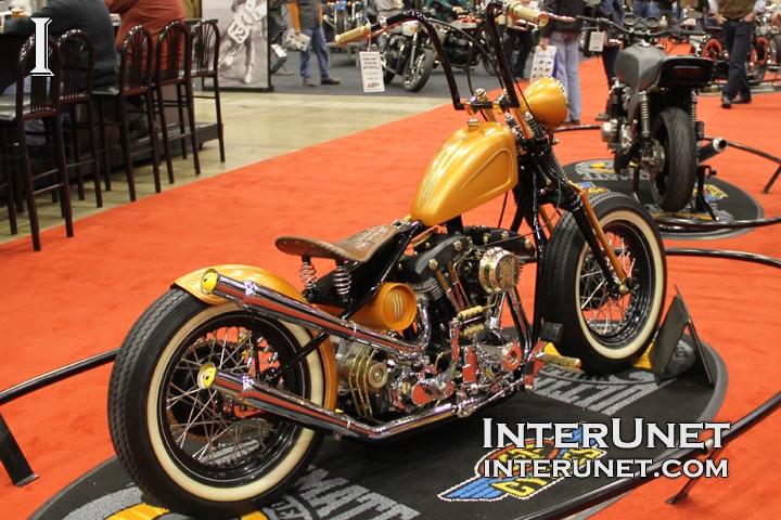 1974 Bobber retro MOD motorcycle