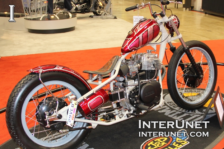 1981 Yamaha XS400 custom motorcycle
