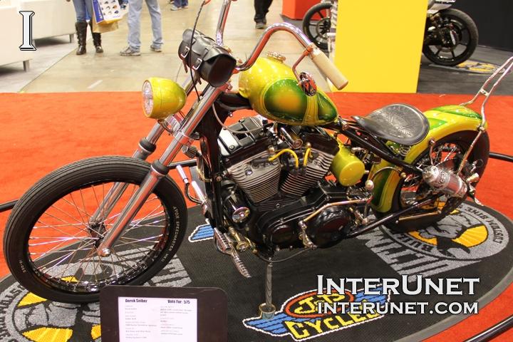 1989 Harley-Davidson Sportster custom MOD bike