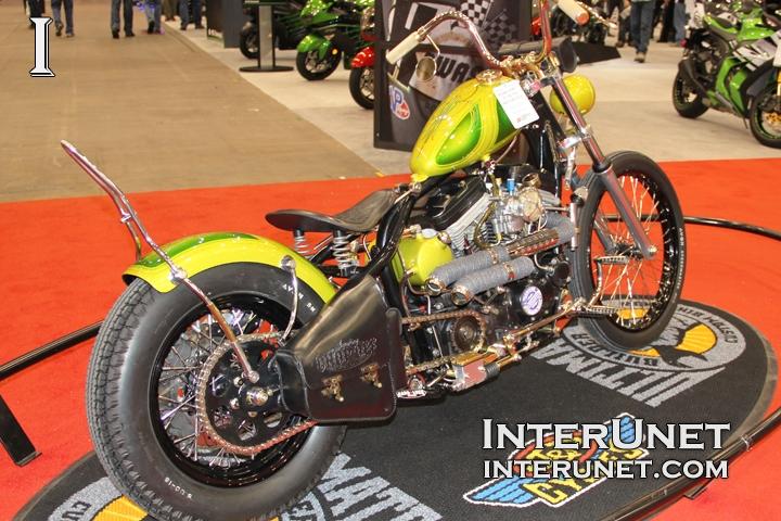 1989 Harley-Davidson Sportster custom motorcycle