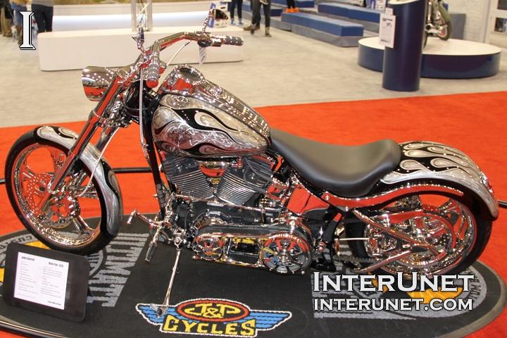 2007 Harley-Davidson FXSTC custom bike