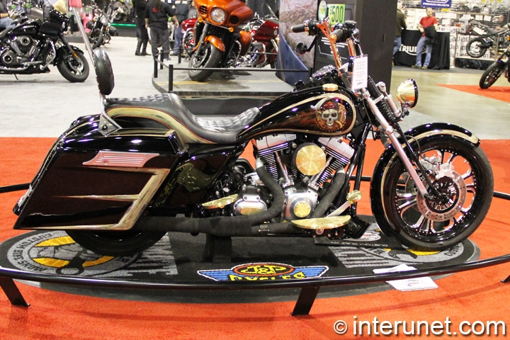 2009-Harley-Davidson-Road-King-side-view