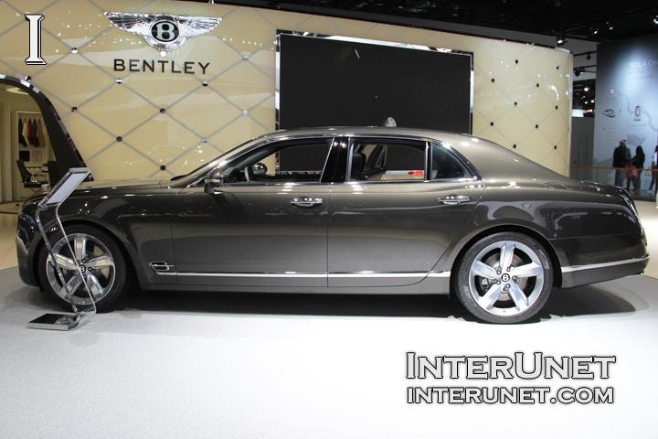 2015 Bentley Mulsanne Speed driver side