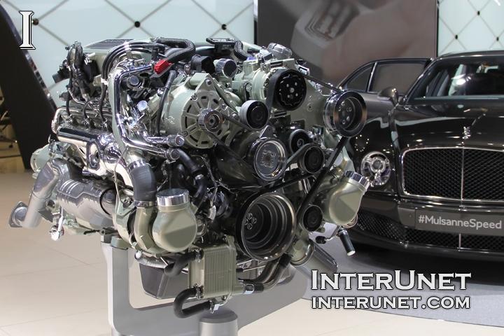 2015 Bentley Mulsanne Speed engine