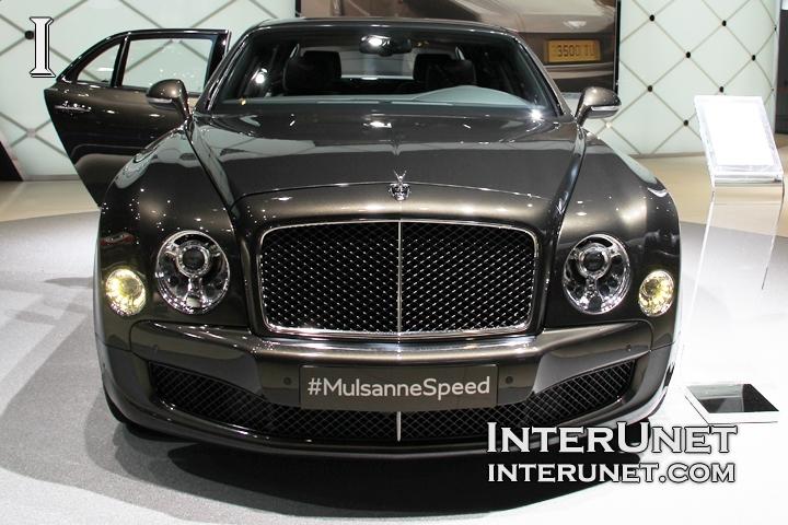 2015 Bentley Mulsanne Speed front view