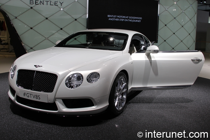 Bentley Continental Gt V S Front View on New 2012 Bentley Continental Gt