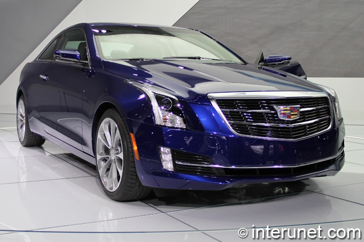 2015-Cadillac-ATS-Coupe-front-view
