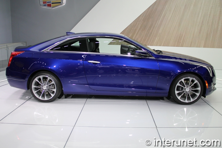 2015-Cadillac-ATS-Coupe-side-view