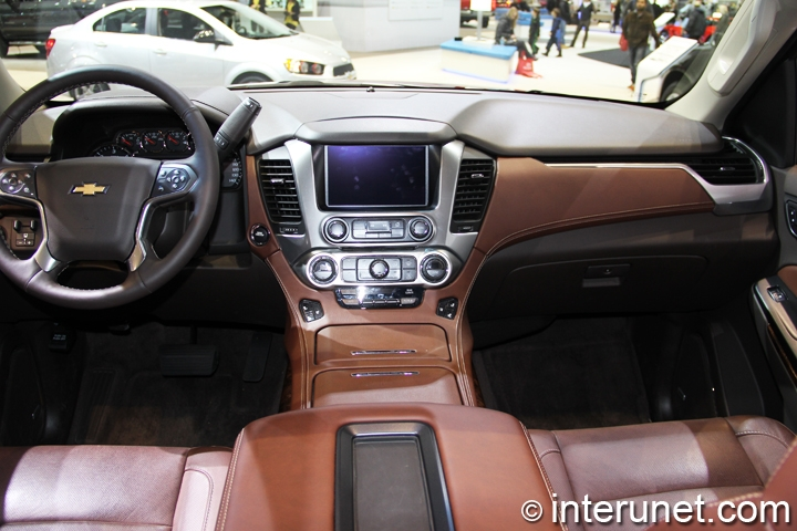 Good 2015 Chevrolet Tahoe Interior