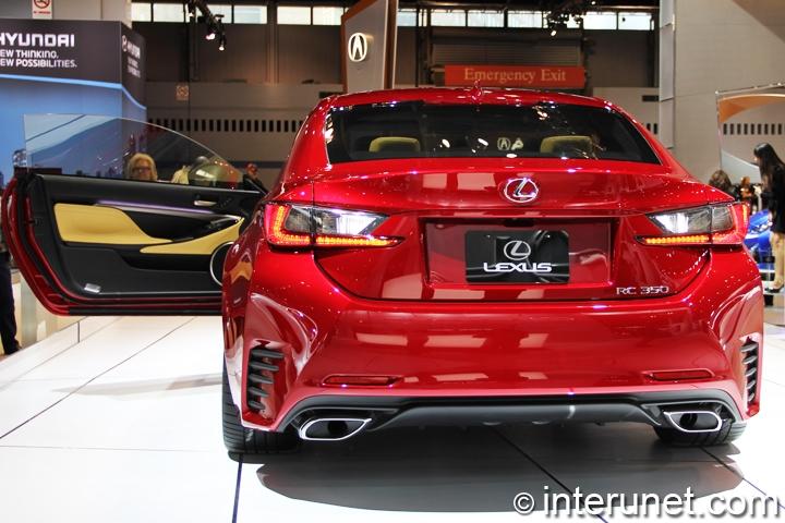 2015-Lexus-RC-350-rear-view