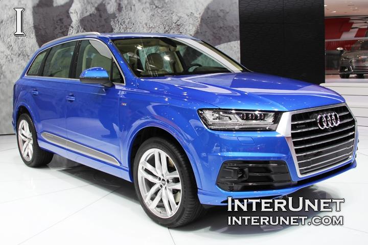 2016 Audi Q7 front passenger side
