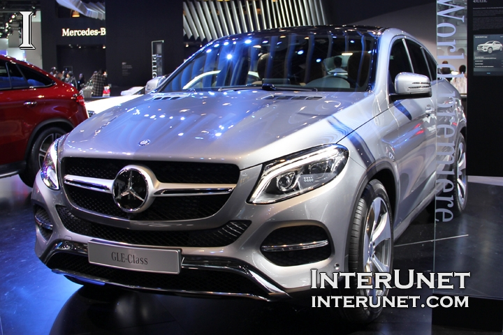 2016 Mercedes-Benz GLE-class coupe front view
