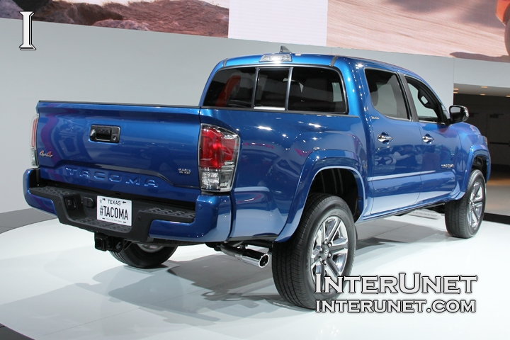 2016 Toyota Tacoma rear side view