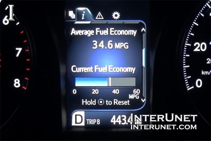 2016 Toyota Camry Fuel Gauge