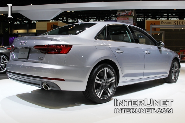2017-Audi-A4-Sedan-S-line-2.0T-Quattro-rear-side
