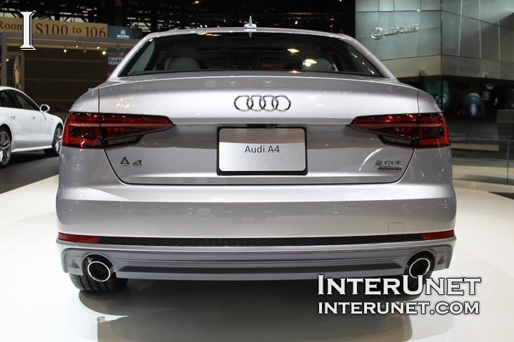 2017-Audi-A4-Sedan-S-line-2.0T-Quattro-rear