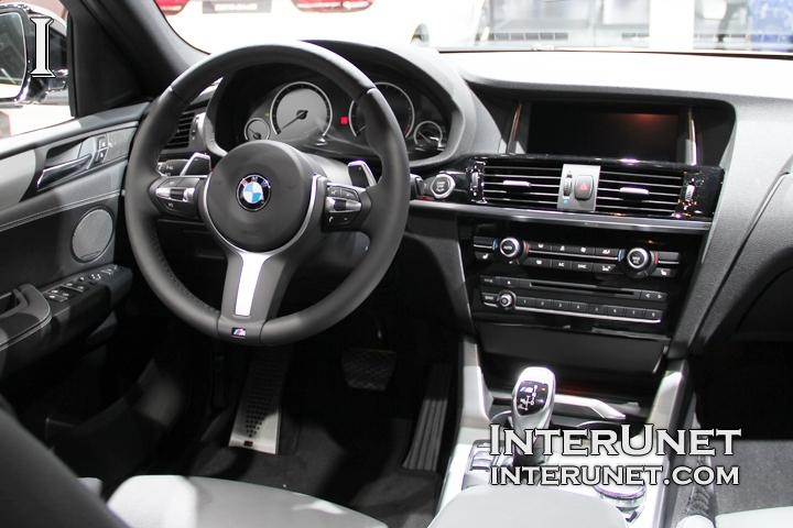 2017-BMW-X4-M40i-interior