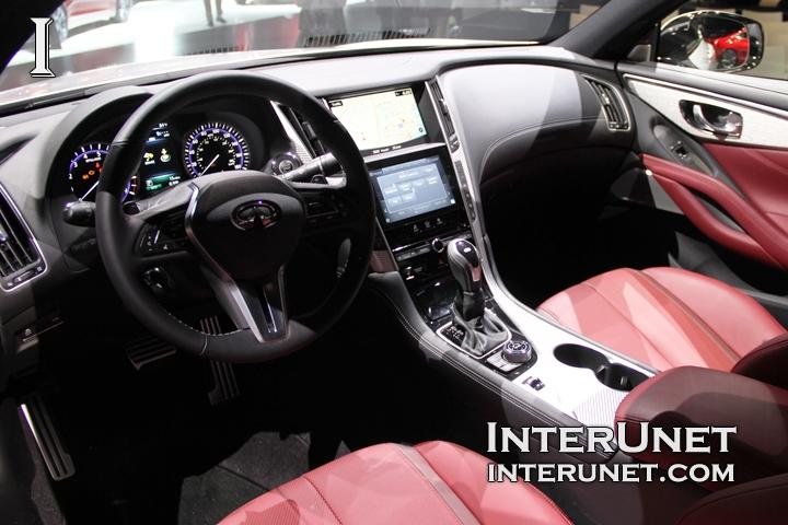 2017 Infiniti Q60 Inside
