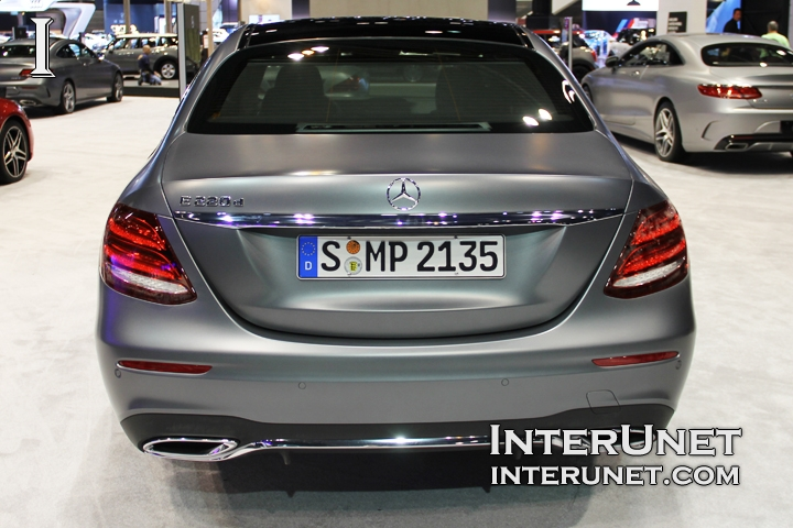 2017-Mercedes-Benz-E220d-rear