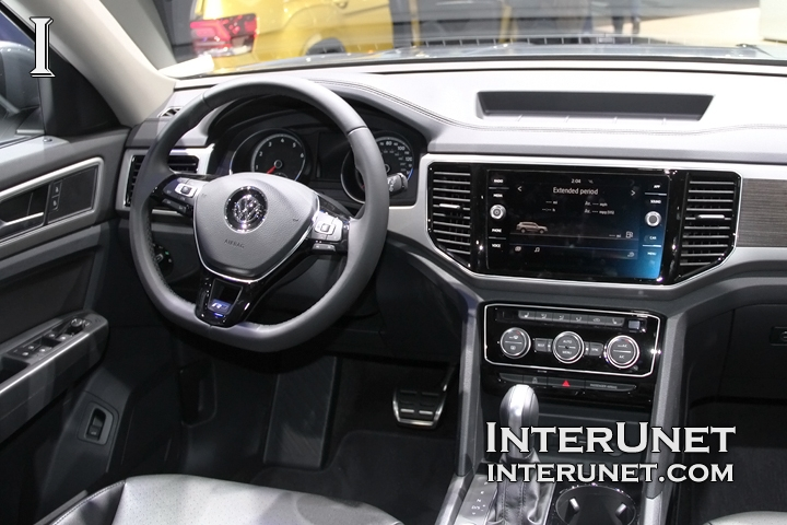 2018 volkswagen r line. Unique Volkswagen 2018VolkswagenAtlasRLineinterior Inside 2018 Volkswagen R Line