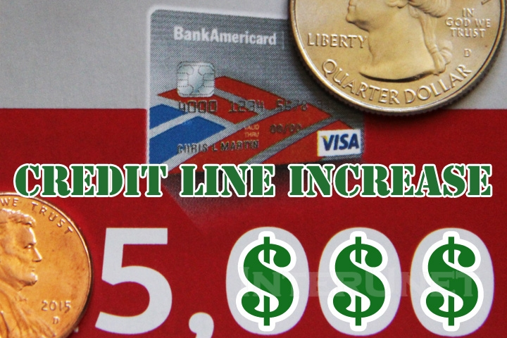 requesting credit line increase