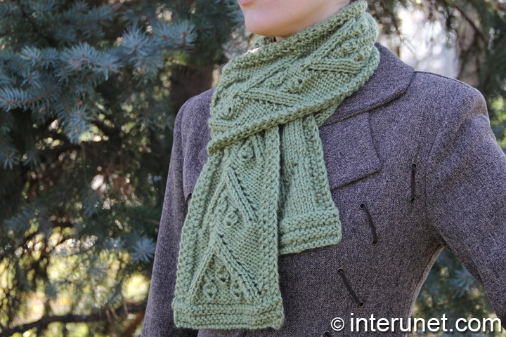 How To Knit A Christmas Scarf For A Woman Interunet