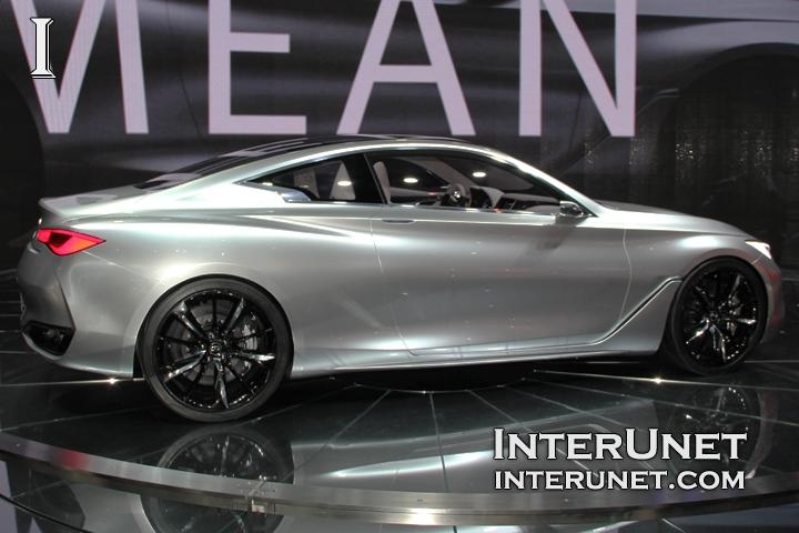Infiniti Q60 concept passenger side