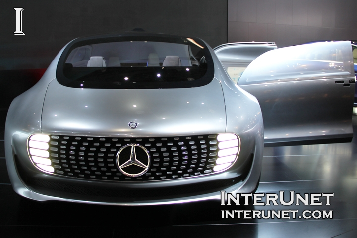 Mercedes-Benz F 015 front view