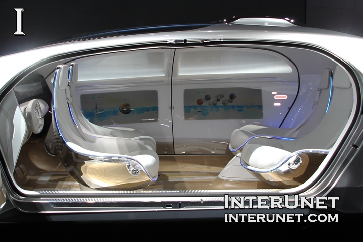 Mercedes-Benz F 015 concept – autonomous vehicle