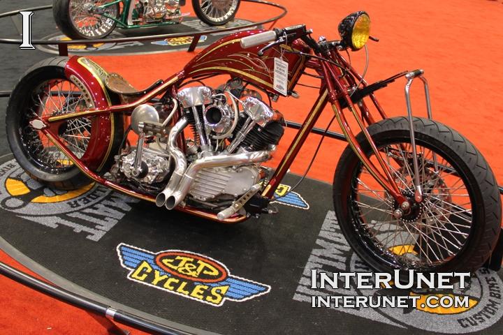 custom built motorcycle