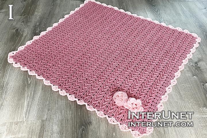 baby blanket crochet pattern free