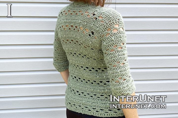 beginners friendly stitch crochet cardigan pattern