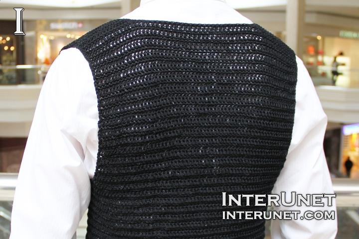 Crochet a vest jacket interunet a shirt crochet pattern dt1010fo