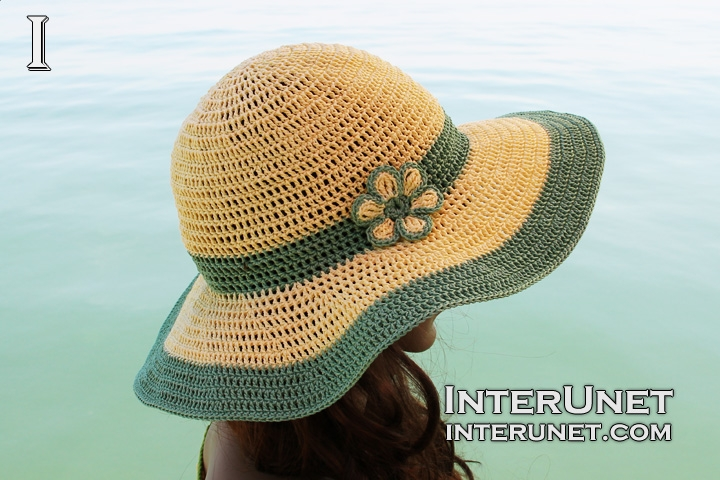 crochet-beach-hat