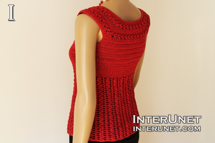 crochet-red-sage-stitch-tank-top