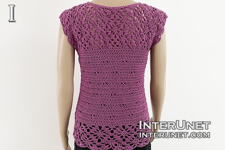 crochet cardigan vest lace free pattern