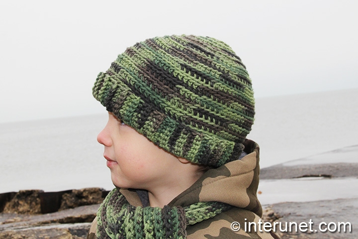 Crochet A Camo Hat For A Child Interunet