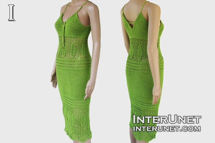 Crochet Lace Summer Dress Interunet