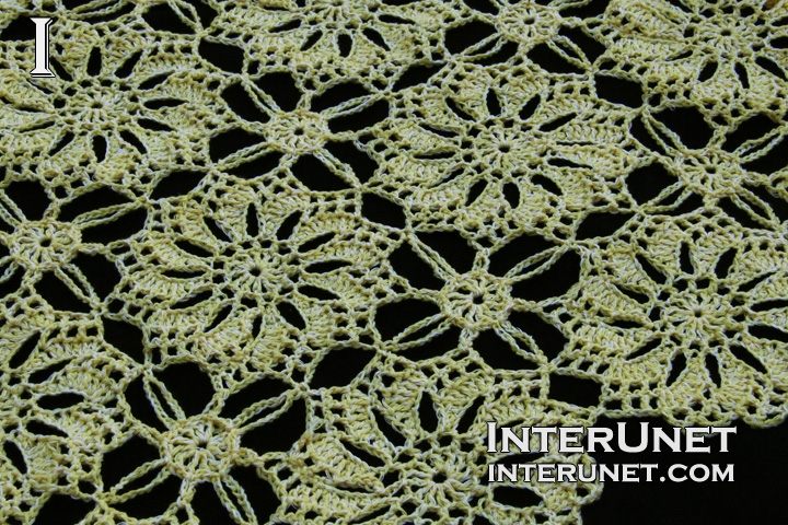 Crochet Flower Motif Blouse Interunet