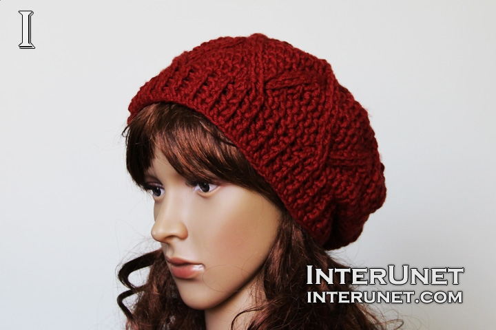 How to crochet a slouchy hat  a9b43f1f872