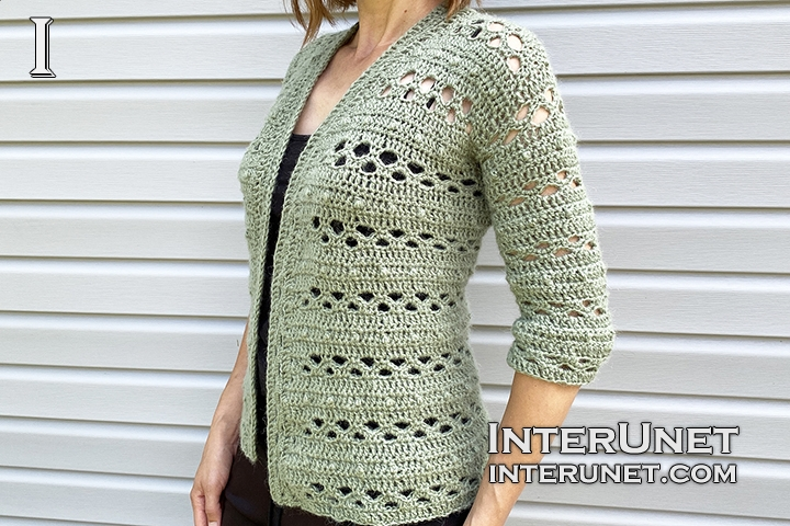 crochet jacket free simple pattern