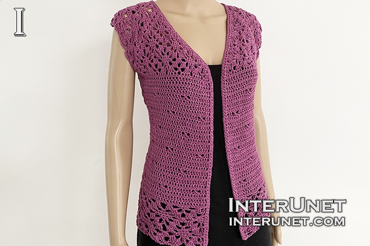 crochet long lace cardigan free pattern step by step