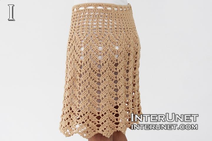 lace skirt crochet