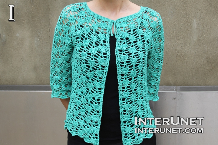 Crochet lace cardigan | interunet
