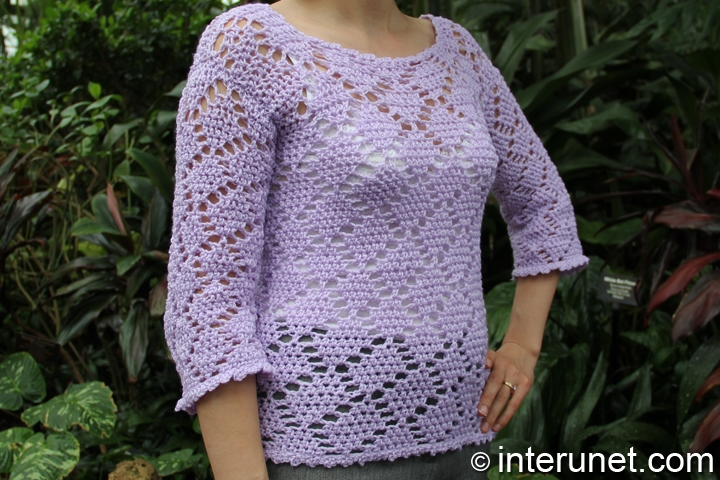 crochet-lace-sweater-diamond-pattern