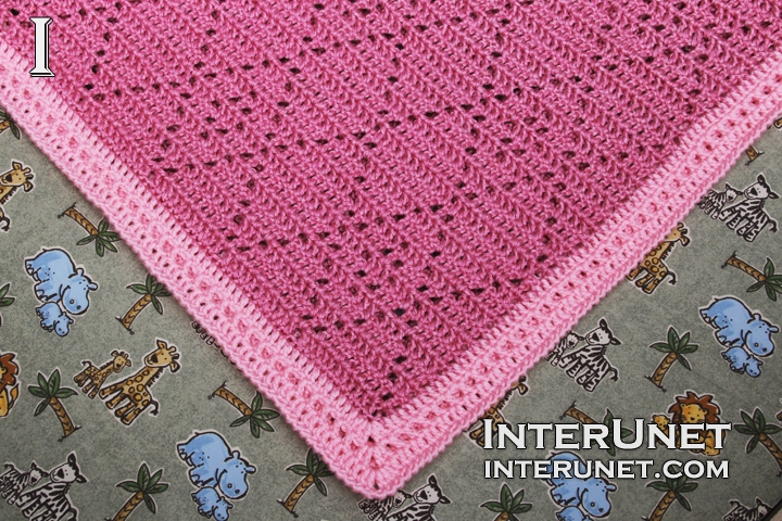 Crochet Baby Blanket Interunet