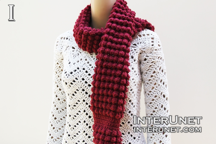 Crochet scarf for beginners | interunet