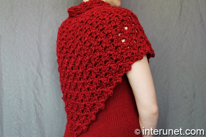 crochet-red-shawl