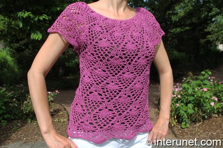 Crochet Patterns Shirts : crochet shirt